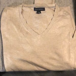 Silk/cotton/cashmere banana republic med sweater